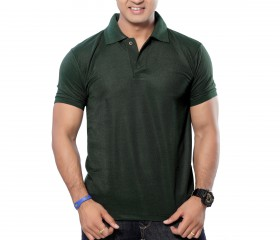 BottleGreen Solid Polo