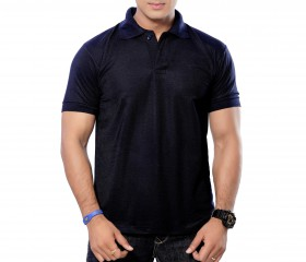 DarkNavy Solid Polo