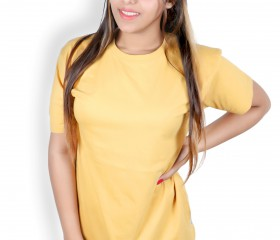 Summer Tee – Yellow