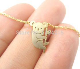 Koala Bear Chain Necklace