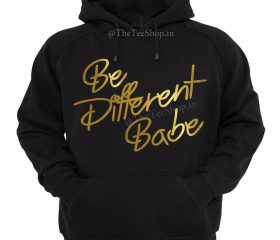 Hoodie – Be Different (XL)