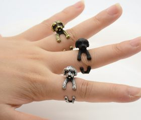 Animal Wrapped Ring – Shih Tzu