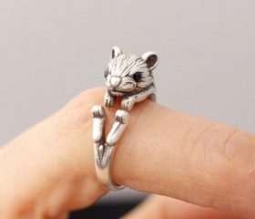 Animal Wrapped Ring – Squirrel