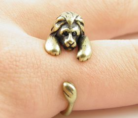 Animal Wrapped Ring – Lion