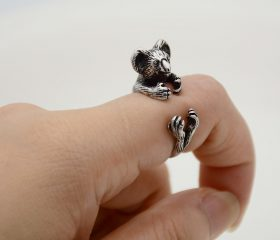 Animal Wrapped Ring – Koala Bear