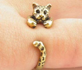 Animal Wrapped Ring – Leopard