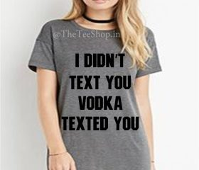 Vodka Texted You
