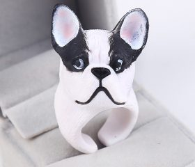 Animal Ring – Cute 3D BullDog