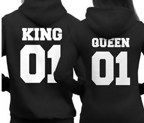 Hoodies – King 01 and Queen 01